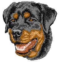 Rottweiler Embroidery